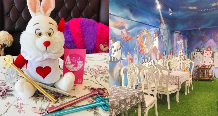 連餐具都是拍照重點之一?跟著兔子一起掉入《愛麗絲夢遊仙境》主題餐廳「森林饗宴」!