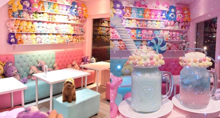 等餐同時還可以買衣服首飾~獨角獸現蹤台中打卡網美店「王皮香One Pink Shop」!