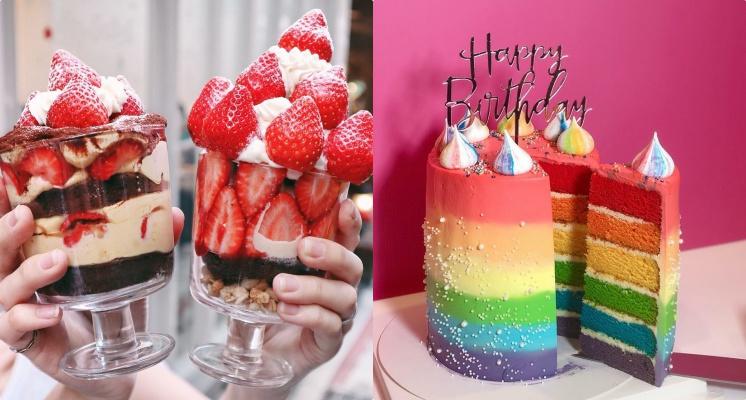 就連編輯也心動!超夢幻甜點店「SWEET TOOTH」每日限量12杯的豪華草莓杯,晚了就吃不到♡
