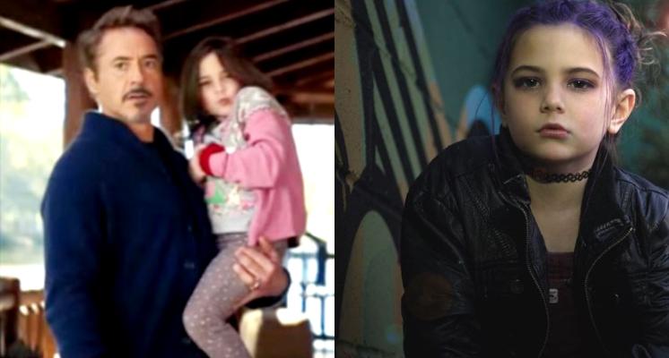 「鋼鐵人女兒」根本不像6歲女童!近照「女人味爆發」 超齡眼神網跪:女神等級!
