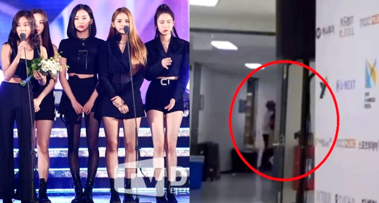 快訊/「韓女團22歲成員」典禮後台疑「被男子爆毆倒地」!CCTV影像瘋傳 粉絲灌爆公司推特!