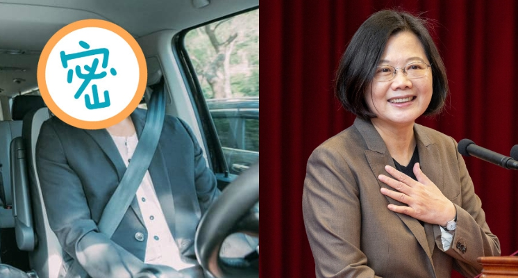 瑪莎「撞髮」總統「蔡英文」…照片一出網友笑歪:總統脫下眼鏡就認不出?