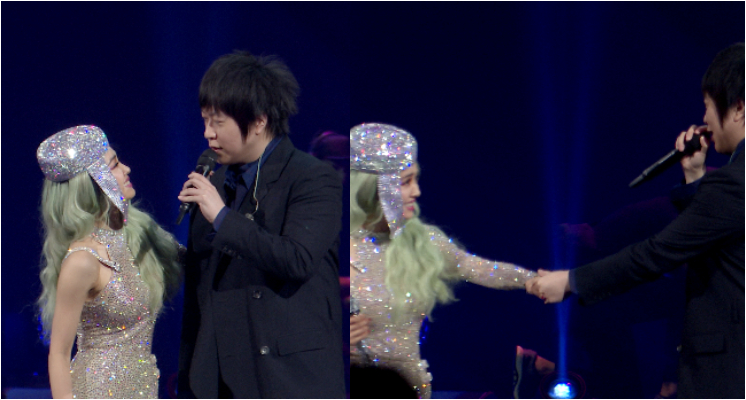 達人秀直擊/「阿信現身」蔡依林最終場演唱會!甜喊JOLIN「公主」…被問「你有看過我的胯下嗎」羞紅臉