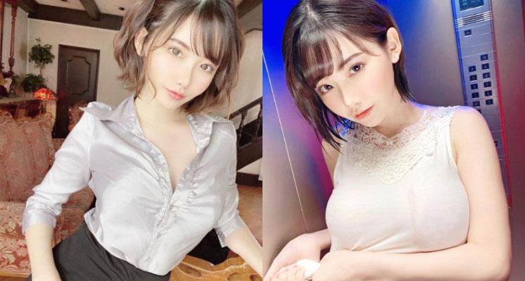 深田詠美辣過頭! 制服鈕扣不扣好「裙子一掀」:春光全外洩~