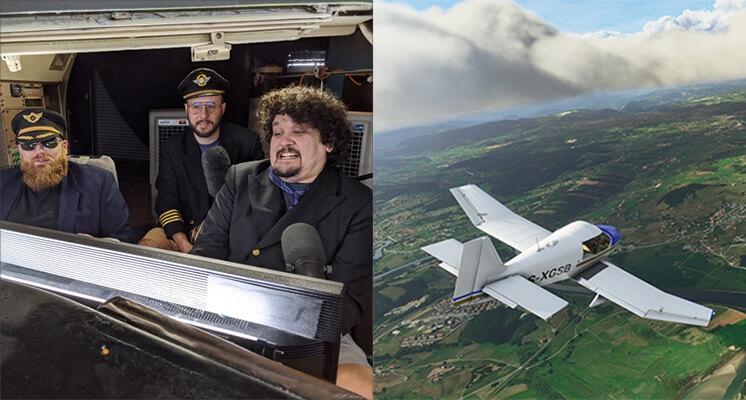 《模擬飛行》熱賣!航空業挺進實況圈:重度玩家變機師!