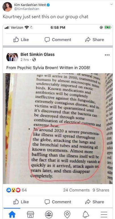 12年前就料中!靈媒曝「2020爆發肺炎」:10年後還會再來一遍