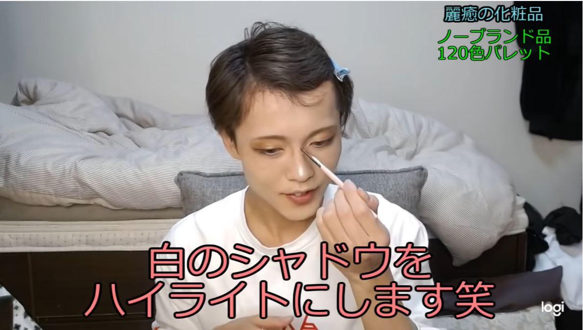 日本電眼「超兇萌妹」卸妝秒變鬍子男!網全嚇歪:本人也太Man